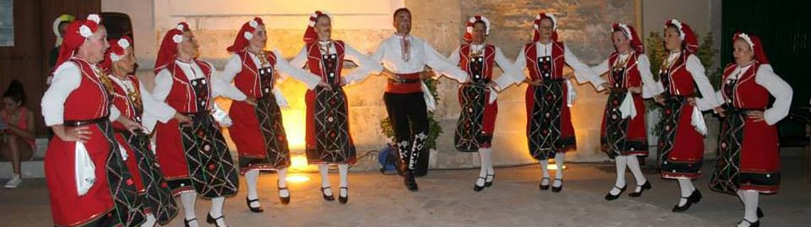 Folkloregruppe in Mallorca